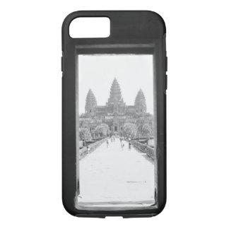 Angkor Cambodia, Angkor Wat Doorway View iPhone 8/7 Case