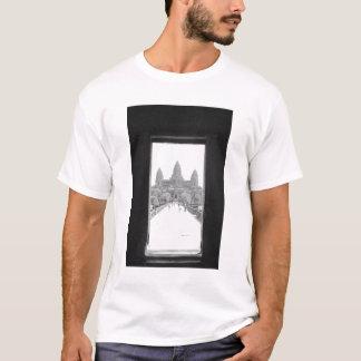 Angkor Cambodia, Angkor Wat Doorway View T-Shirt