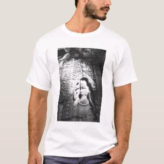 Angkor Cambodia, Apsara Carving The Bayon T-Shirt