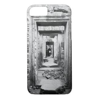 Angkor Cambodia, Doorways Preah Khan iPhone 8/7 Case