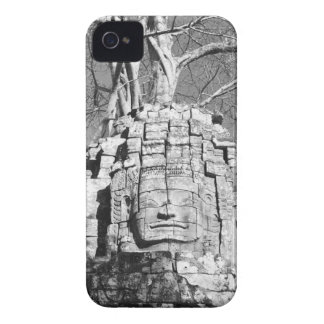 Angkor Cambodia, Head Ta Som Temple iPhone 4 Case-Mate Case