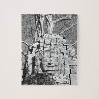 Angkor Cambodia, Head Ta Som Temple Jigsaw Puzzle