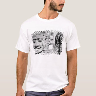 Angkor Cambodia, Heads The Bayon T-Shirt