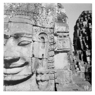 Angkor Cambodia, Heads The Bayon Tile