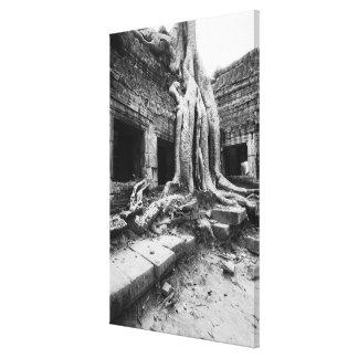 Angkor Cambodia, Ta Prohm Tree Canvas Print
