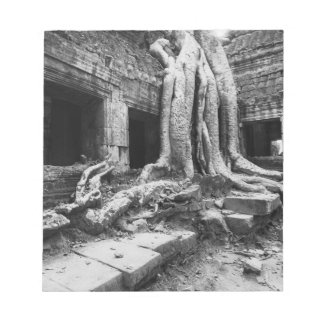 Angkor Cambodia, Ta Prohm Tree Notepad
