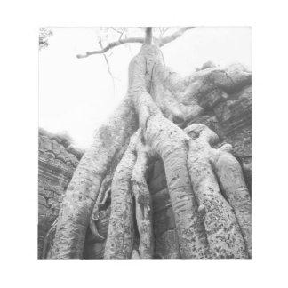 Angkor Cambodia, Tree Ta Prohm Notepad