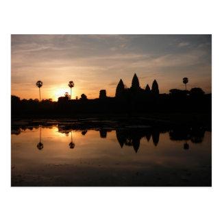 angkor sun reflections postcards