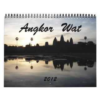 angkor wat 2012 calendar