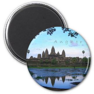 Angkor Wat 6 Cm Round Magnet