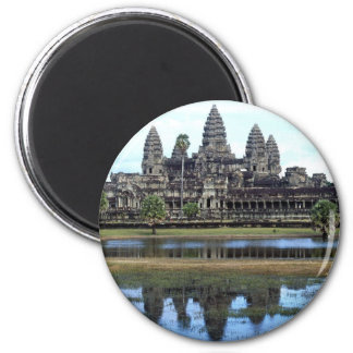 Angkor Wat Cambodia Temple Travel Photography Magnet