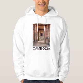 Angkor Wat Entryway, Cambodia Hoodie