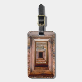Angkor Wat Entryway, Cambodia Luggage Tag