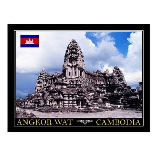 Angkor Wat Temple, Cambodia Postcard