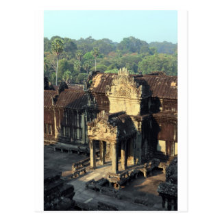 Angkor Wat temple ruins, Siem Reap Post Card