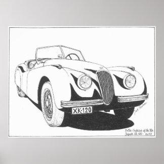 Anglaises-Jaguar Poster