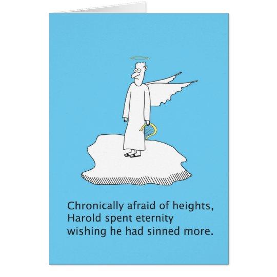 Angle Fears Card