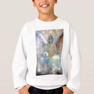 Angle with spheres sweatshirt