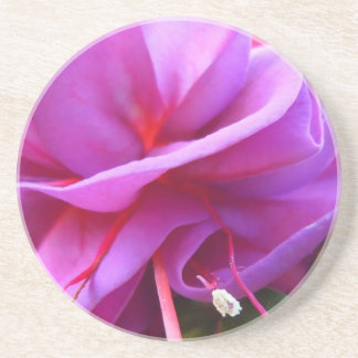 Angled Fuschia Coaster