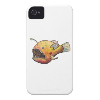 Angler fish love iPhone 4 cases