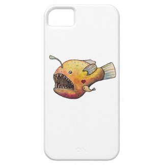 Angler fish love iPhone 5 covers