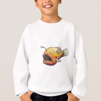 Angler fish love sweatshirt