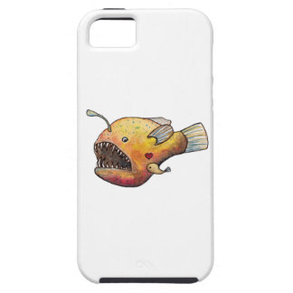 Angler fish love tough iPhone 5 case