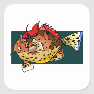 Angler Fish Stickers