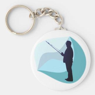 Angler fisher schlüsselband