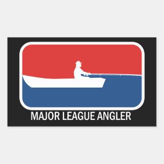 Angler Fisherman Stickers