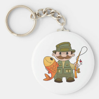 Angler Keychain