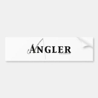 Angler logo bumper sticker
