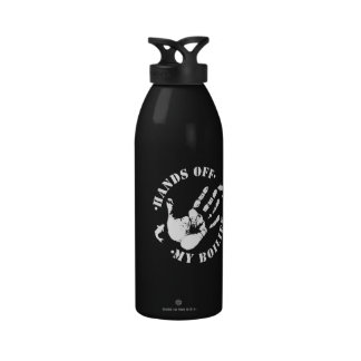 Angler s Hands off my Boilies Carp Water Bottle