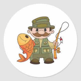 Angler Stickers