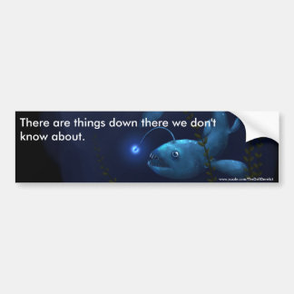 Anglerfish in the Undergrowth Car Bumper Sticker