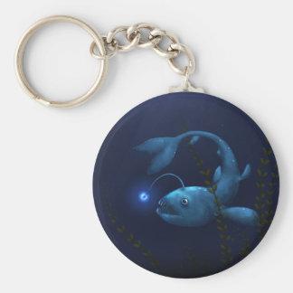 Anglerfish in the Undergrowth Keychain