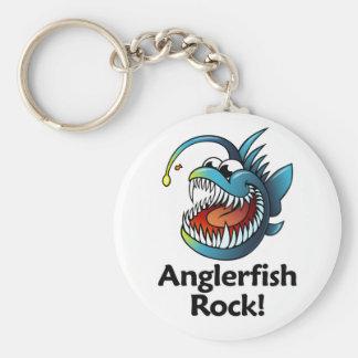 Anglerfish Rock! Key Chains