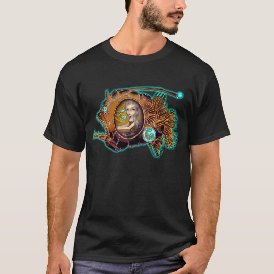 Anglerfish Submarine steampunk Shirt