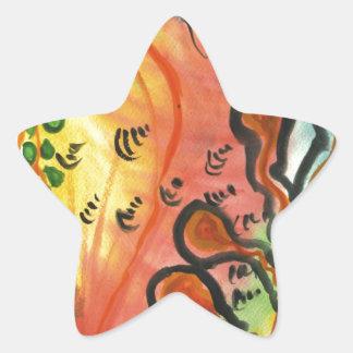Anglers dream star sticker