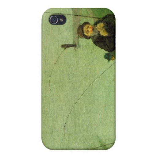 Anglers on the Rhine by August Macke iPhone 4 Cover