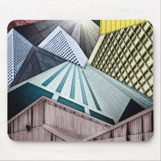 Angles of City Structures Mouse Pad