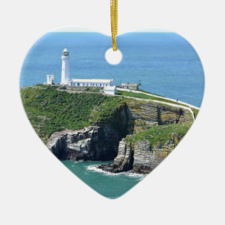 Anglesey Ceramic Heart Decoration