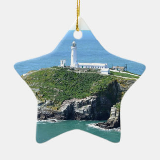 Anglesey Ceramic Star Decoration