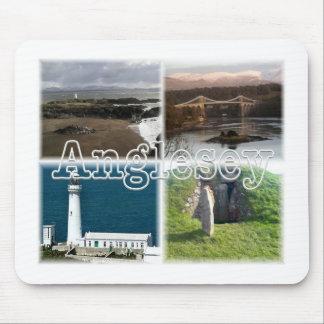 Anglesey Ynws Mon Wales Beaumaris Menai Mouse Mat
