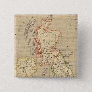 Angleterre, Ecosse & Irlande en 900 15 Cm Square Badge