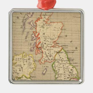 Angleterre, Ecosse & Irlande en 900 Christmas Ornament
