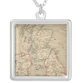 Angleterre, Ecosse, Irlande et Man 1100 a 1280 Silver Plated Necklace