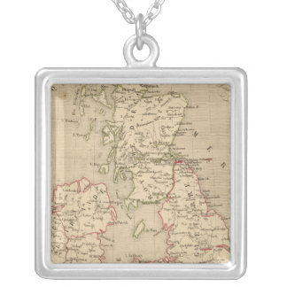 Angleterre, Irelande & Ecosse 1281 a 1400 Silver Plated Necklace