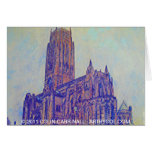 Anglican Cathedral Liverpool by Colin Carr-Nall Greeting Cards