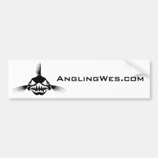 AnglingWes com Bumper Sticker